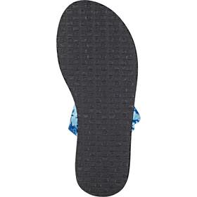 Sanük Yoga Sling 2 Prints Sandalen Dames blauw/zwart